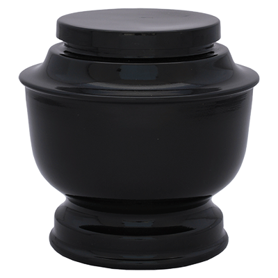 Black Spun Urn (MUNS-087) Image