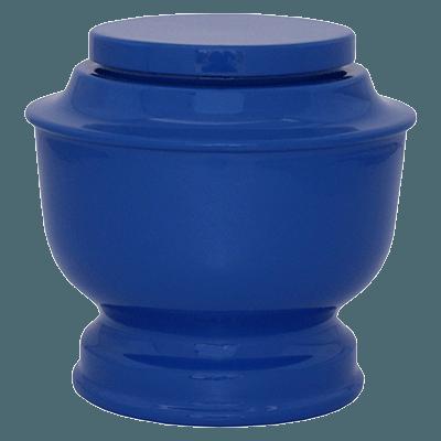 Blue Spun Urn (MUNS-091) Image