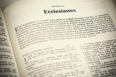 Open Bible ,The Book of Ecclesiastes